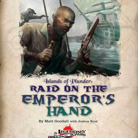 raid on the emperor's hand cover